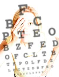 Eye Test Optician Short Sight Short