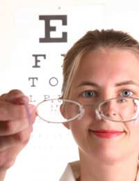 Eyewear Eye Trouble Partially Sighted
